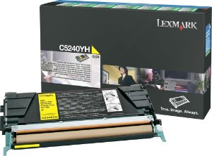 Toner Lexmark Yellow C5240YH Original