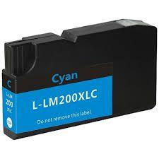 Compativel: Cartucho De Tinta Lexmark 200xl 14l0175 Ciano 18014 MecSupri