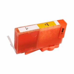 Compativel: Cartucho de Tinta HP 670XL Amarelo CZ120AB Mecsupri