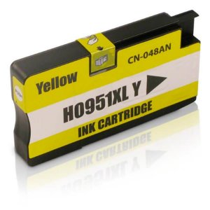 Cartucho Mecsupri compativel com Officejet Pro 8610 da HP 951XL Amarelo CN048AL
