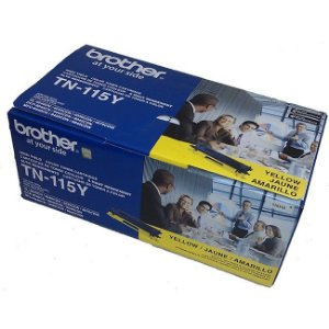 Toner Brother 9040 TN-115Y Original HL-4040 - 4000 Pgs – Amarelo