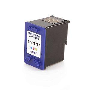 Cartucho Mecsupri Compatível com HP 57 Colorido C6657AL