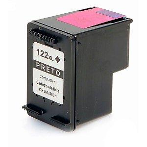 Compativel:  Cartucho de Tinta HP 122XL - CH563HB - Preto - Mecsupri