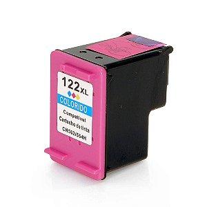Compativel: Cartucho de Tinta HP 122XL - CH564HB  - Colorido - Mecsupri