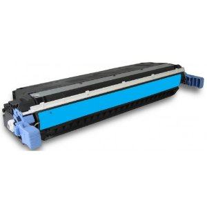 Cartucho de Toner Mecsupri Compatível com  HP C9721A Ciano 641A