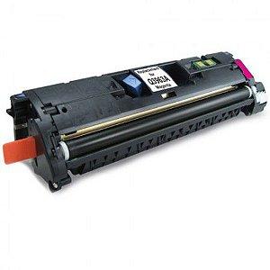 Cartucho de Toner Mecsupri Compatível com HP 122A Magenta Q3963A