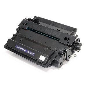 Cartucho de Toner HP 55X CE255X - Preto - Mecsupri