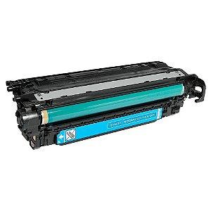 Compativel: Cartucho de Toner HP 504A - CE251A - Ciano - Mecsupri
