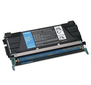Cartucho de Toner Mecsupri Compatível com Lexmark C522 Ciano C5220CS