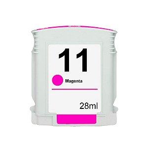 Cartucho de Tinta HP 11 - C4837A - Magenta - Mecsupri