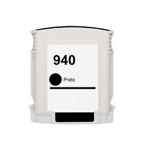 Cartucho de Tinta HP 940 - C4902A - Preto - Mecsupri