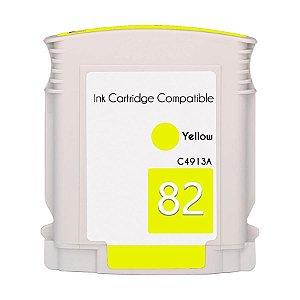 Compativel: Cartucho de Tinta HP 82 - C4913A - Amarelo - Mecsupri