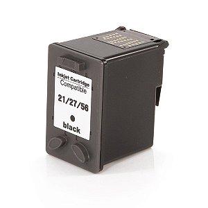 Compativel: Cartucho de Tinta HP 21 Preto C9351A Mecsupri