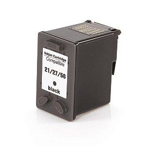 Compativel: Cartucho de Tinta HP 21XL - C9351CL - Preto - Mecsupri