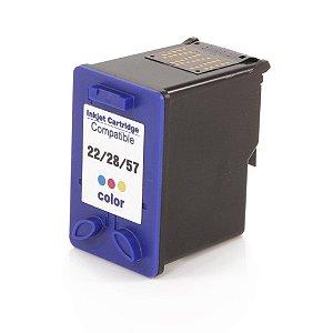 Compativel: Cartucho de Tinta HP 28 Colorido C8728AL Mecsupri