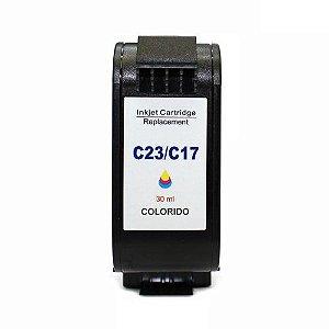 Cartucho de Tinta HP 23 - C1823DL - Colorido - Mecsupri