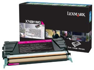 CARTUCHO TONER LEXMARK X748 MAGENTA - X748H1MG