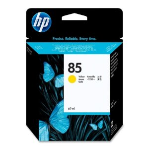 Cartucho   de Plotter Original HP 85  (C9427A)  Amarelo de 69 ml