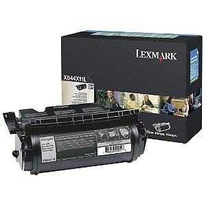 Toner Lexmark X646E X644X11L Original (produto com caixa aberta/toner com lacre)
