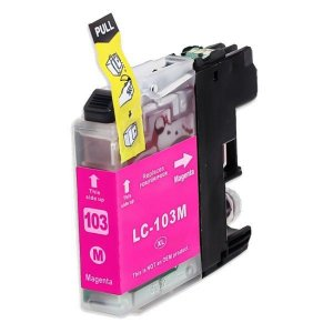 Cartucho Mecsupri Magenta Compativel com Brother LC 103/105/107/109  / 4310 4510 4610