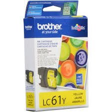 Cartucho de Tinta Brother LC61Y Yellow Original