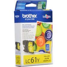 Cartucho Brother LC61Y Yellow Original