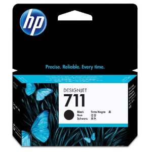 Cartucho de Tinta HP 711  Preto 37ml - CZ129A CX 1 UN