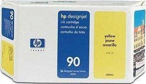 Cartucho de Tinta HP 90 Amarelo C5064A Original 225ml