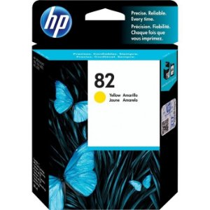 Cartucho de Tinta HP 82 Amarelo CH568A 28ml Original