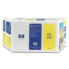 HP 90 Cabeça de impressão/Limpeza C5057A Amarelo Original