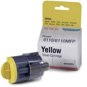 Cartucho Toner Yellow 106r01206 Para Phaser 6110 Xerox