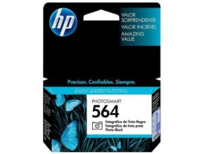 Cartucho HP 564 Preto Fotografico 3,5ml Original (CB317WL) Para HP Photosmart C309g, B210a, C5324, Deskjet 3526, Officejet 4622, 4620 CX 1 UN