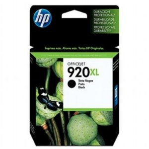 Cartucho HP 920XL Preto Original (CD975AL) Para HP Officejet 7500A, 6000dwn, 6500A CX 1 UN