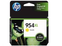 Cartucho HP 954XL Amarelo Original (L0S68AB) Para HP Deskjet 7720, 7740, 8210, 8710, 8720 CX 1 UN
