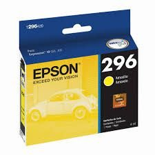Cartucho EPSON p/Expression amarelo T296420BR CX 1 UN Original