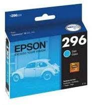 Cartucho EPSON p/Expression ciano T296220BR CX 1 UN Original