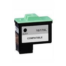 Compatível: Cartucho de Tinta Lexmark 16 Preto 10N0016 Mecsupri