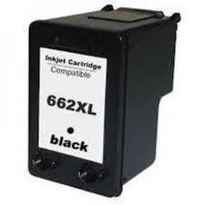 Cartucho de Tinta Mecsupri Compatível com HP 662XL Preto CZ105AB