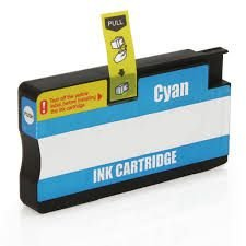 Cartucho de Tinta Mecsupri Compatível com HP 954XL Ciano L0S62AB