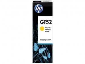 Garrafa de Tinta HP Yellow GT52 Original - para HP DeskJet GT 5822