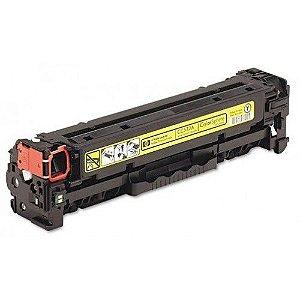 Cartucho de Toner HP 305A - CE412A - Amarelo - Mecsupri