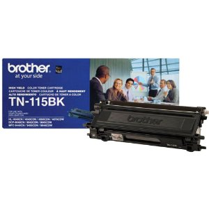 Cartucho toner p/Brother preto p/5000 pag. TN115BK Brother CX 1 UN