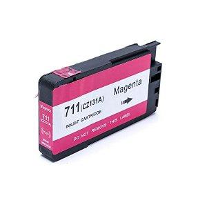 Cartucho de Tinta Mecsupri Compatível com HP 711 magenta CZ131AB