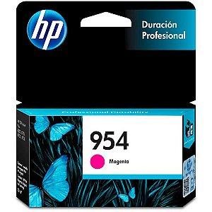 Cartucho HP 954 Magenta Original (L0S53AB) Para HP Deskjet 7720, 7740, 8210, 8710, 8720 CX 1 UN