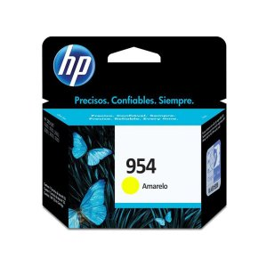Cartucho HP 954 Amarelo Original (L0S56AB) Para HP Deskjet 7720, 7740, 8210, 8710, 8720 CX 1 UN