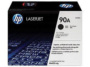 Cartucho de Toner p/HP laserjet 90A preto CE390A Original HP CX 1 UN