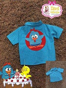 Camisa Personalizado Galinha Pintadinha