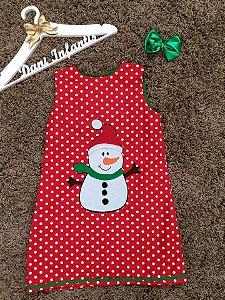 vestido boneco de neve