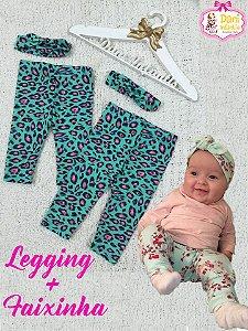 Legging + Faixinha