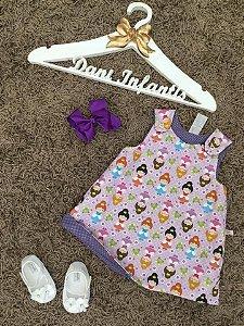 Vestido princesinha cute